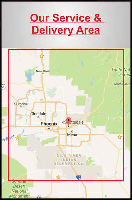 Map-Dumpster-Rental-Service-in-Phoenix-AZ-Area-Disposal-Delivery-Area