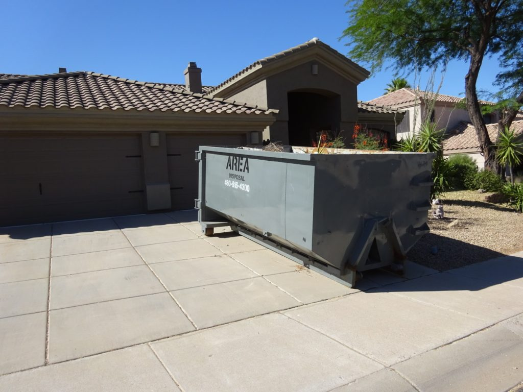 Scottsdale Dumpster Rental Service by Area Disposal